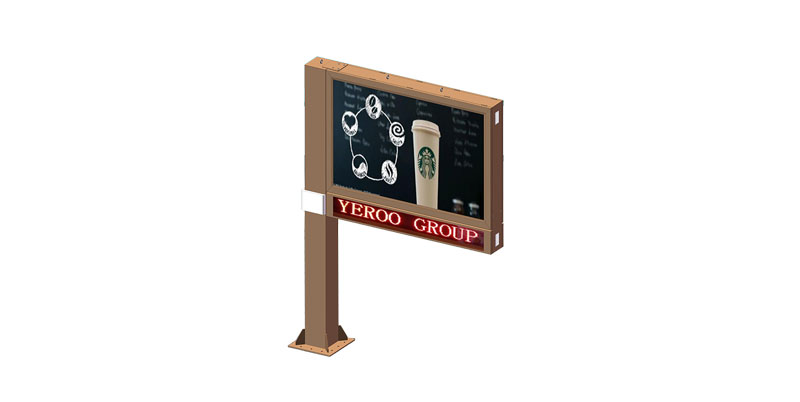 YEROO-Find Scrolling Poster Scrolling Advertising Signs From Yeroo Bus Shelter