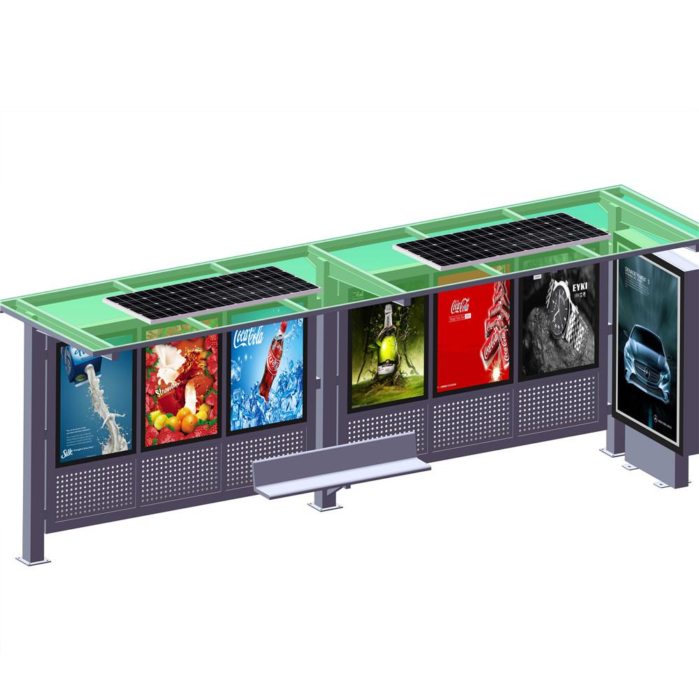 YEROO-solar powered bus shelter | Solar powered bus shelter | YEROO