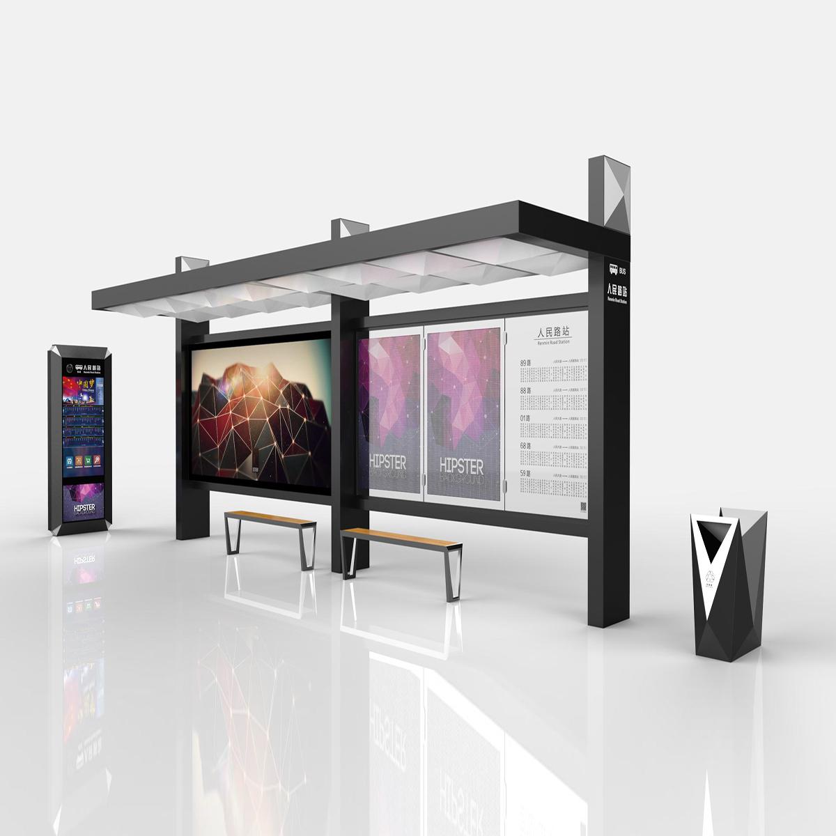 YEROO customized smart bus shelter-YEROO-img-1