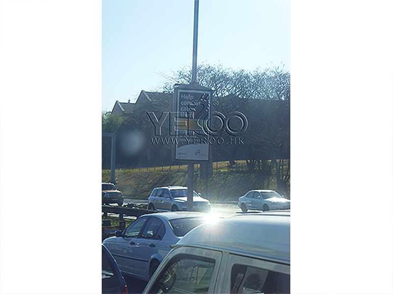 YEROO-Find Pole Led Display Outdoor Light Pole Display From Yeroo Bus Shelter-16