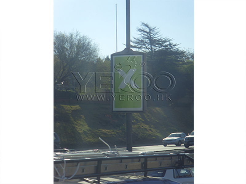 YEROO-Find Pole Led Display Outdoor Light Pole Display From Yeroo Bus Shelter-17