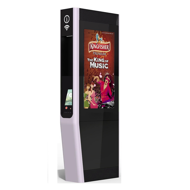 YEROO-Find Outdoor Totem Interactive Touch Screen Kiosk From Yeroo Bus Shelter