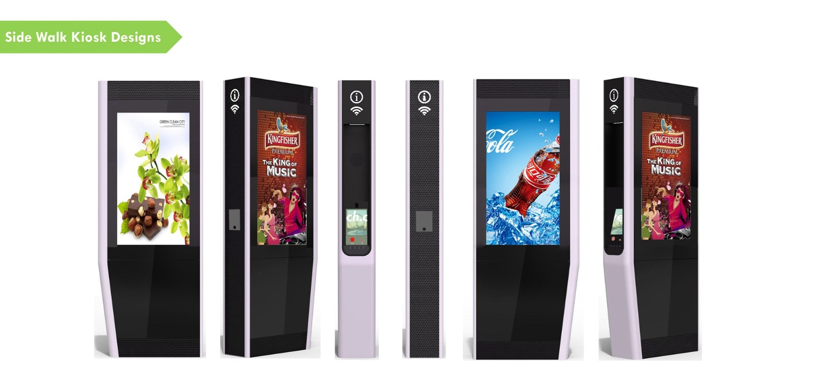 YEROO-Find Outdoor Totem Interactive Touch Screen Kiosk From Yeroo Bus Shelter-12
