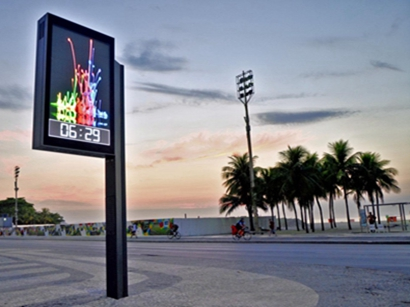 Outdoor double sided led screen display digital light box YR-DLB-0001-28