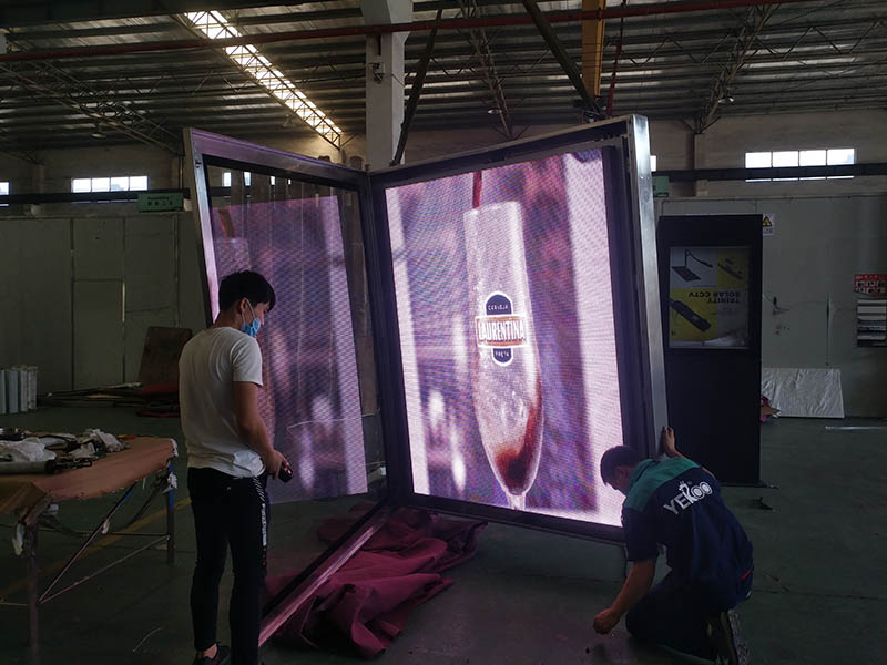 YEROO-Find Led Screen Display Outdoor Led Screen Display From Yeroo Bus Shelter-20