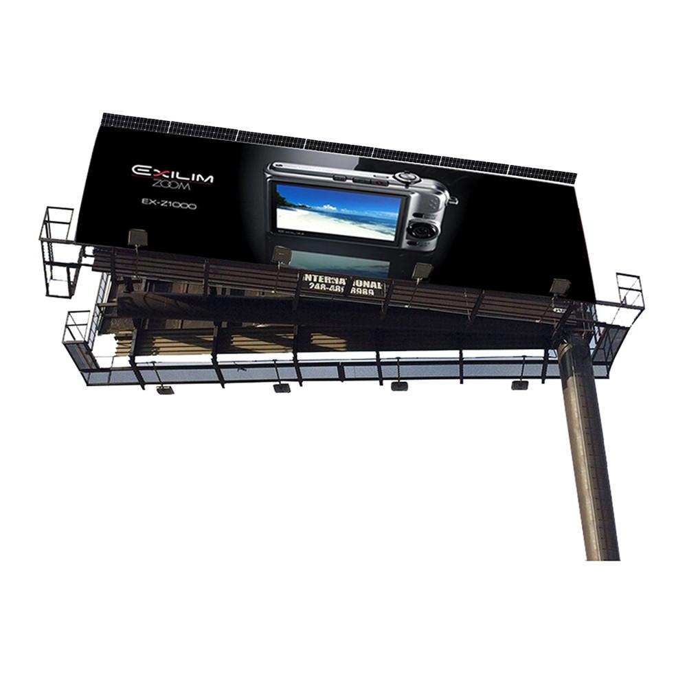 YEROO-2019 steel structure outdoor billboard double side cantilever billboard-1