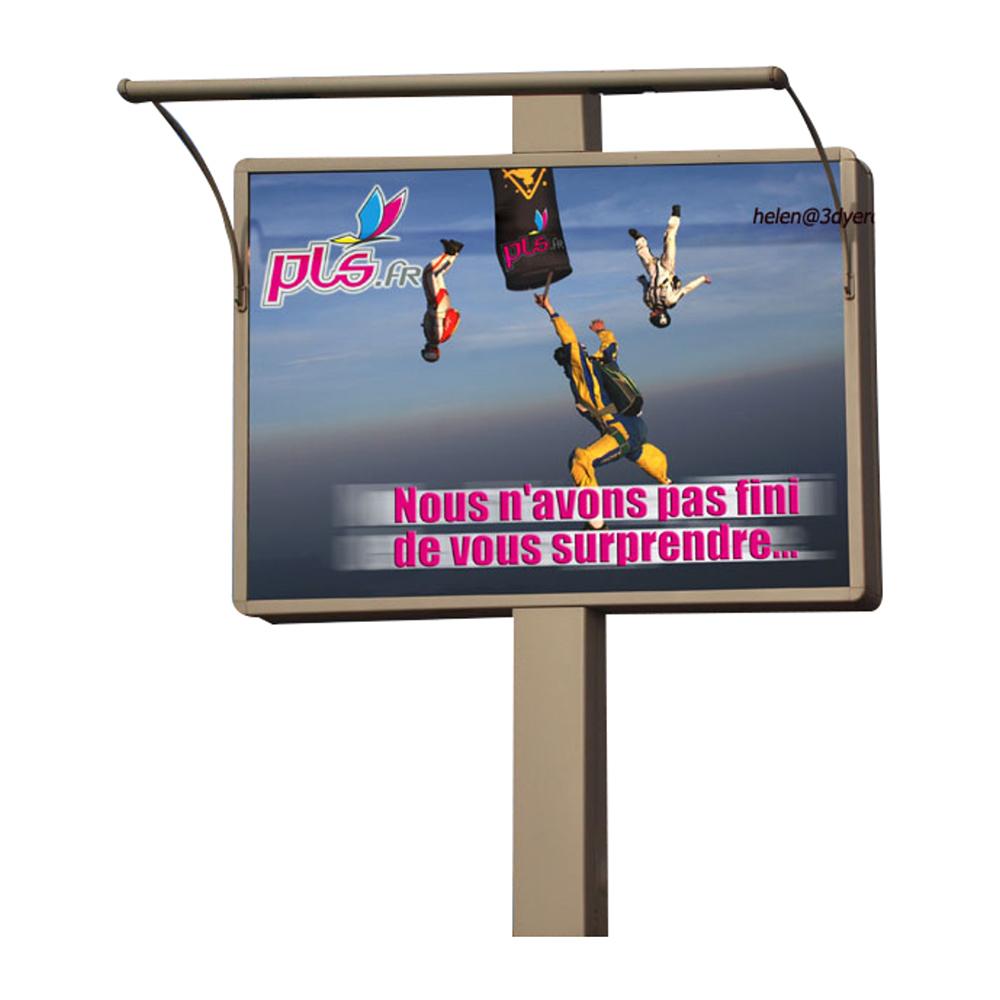YEROO-Outdoor 4m x 3m solar powered city billboard