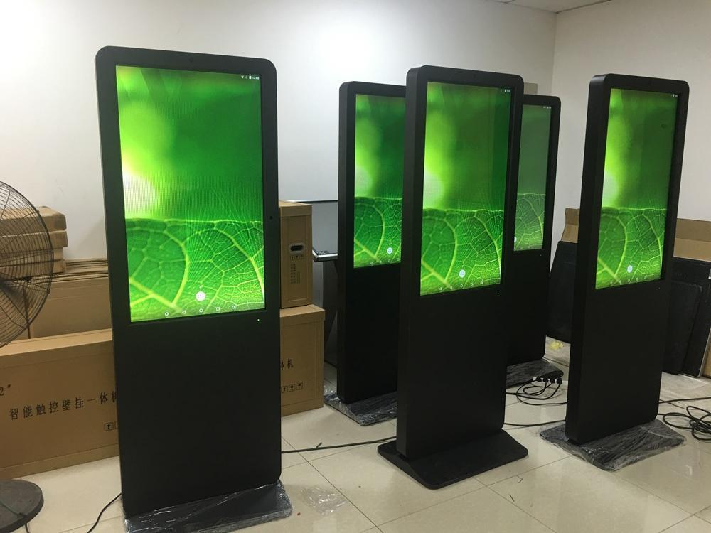 indoor smart kiosk lcd screen with NFC
