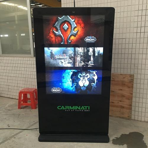 outdoor digital signage touch screen kiosk