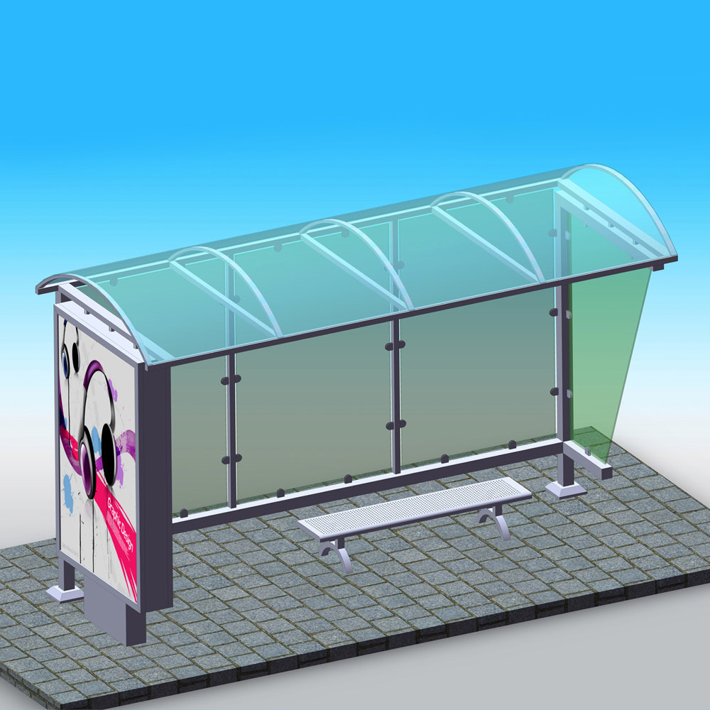 YEROO-bus stop shelter | Simple bus shelter | YEROO