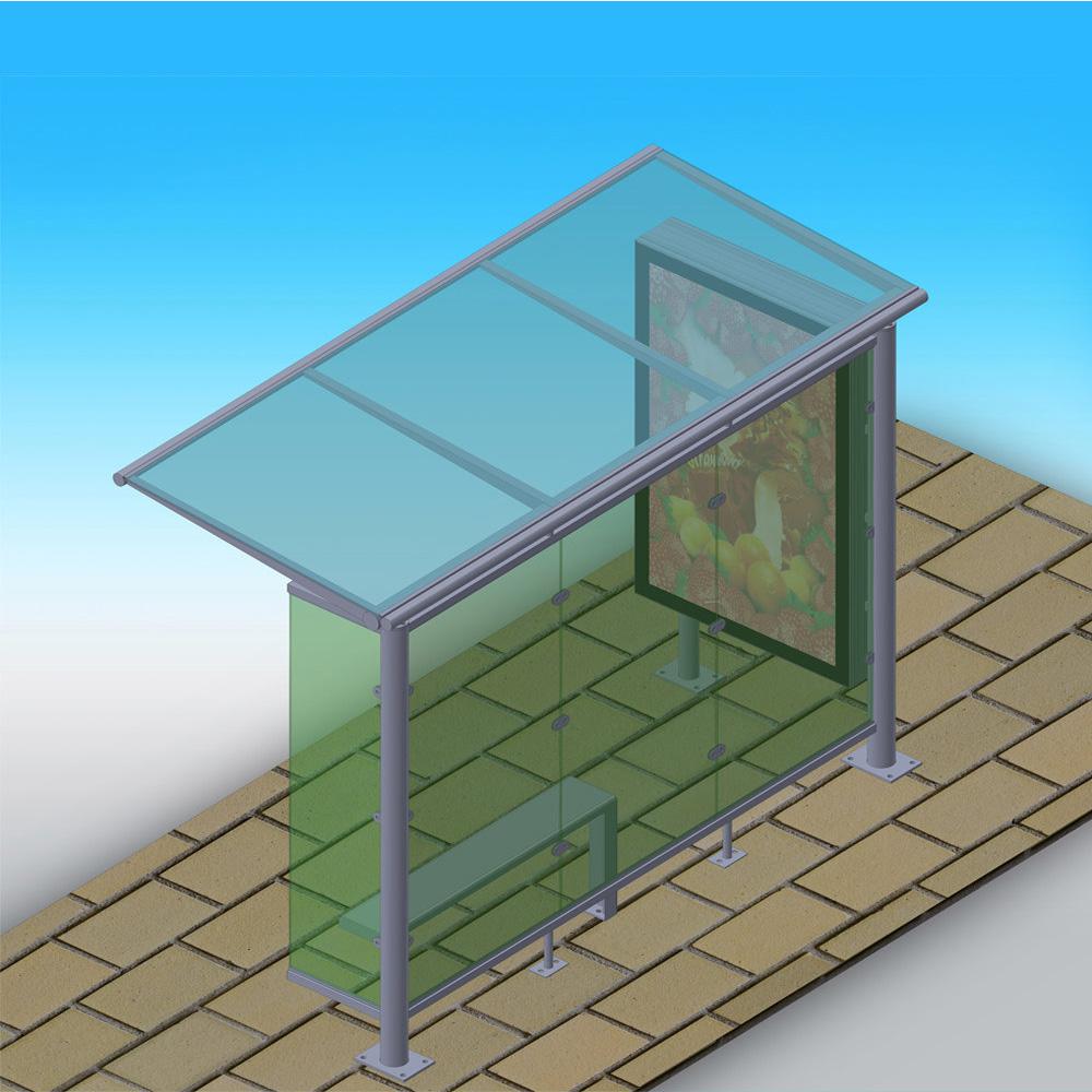 YEROO-bus shelter price | Simple bus shelter | YEROO