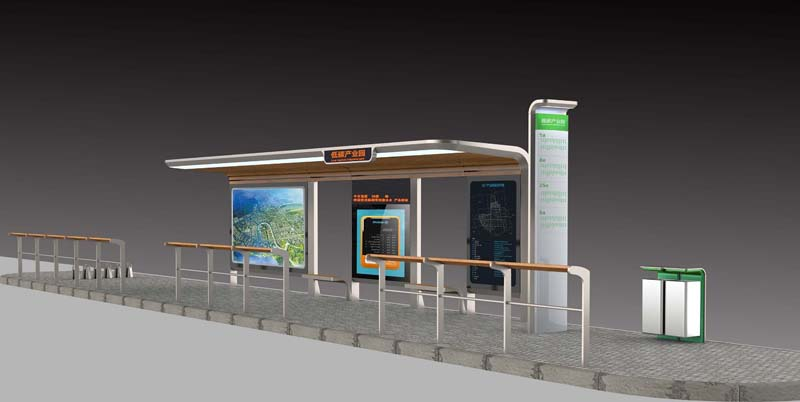 YEROO-Introduction to the surface treatment method of bus shelters