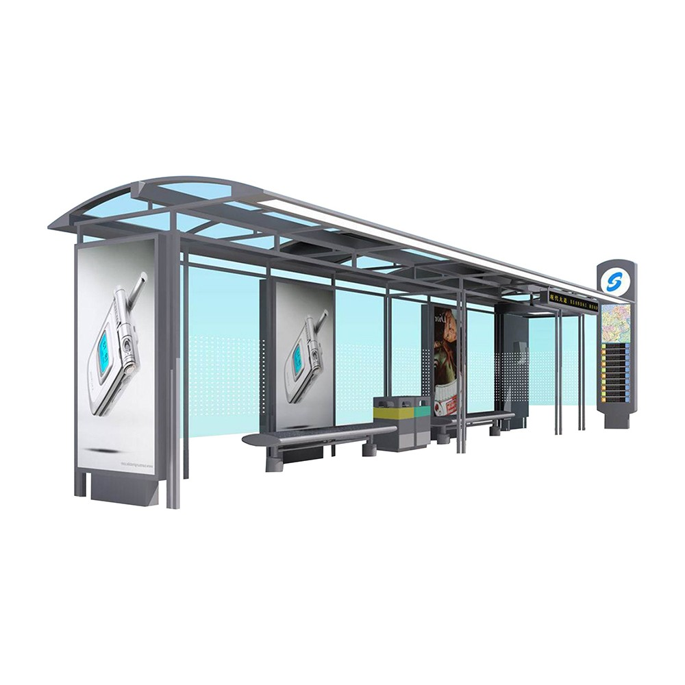 YEROO-Smart bus shelters solve traffic congestion problems