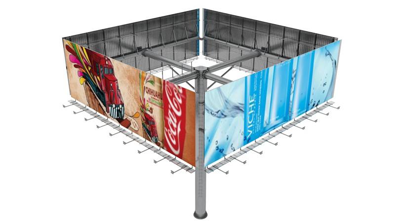 YEROO-Outdoor billboard replacement screen skills and methods