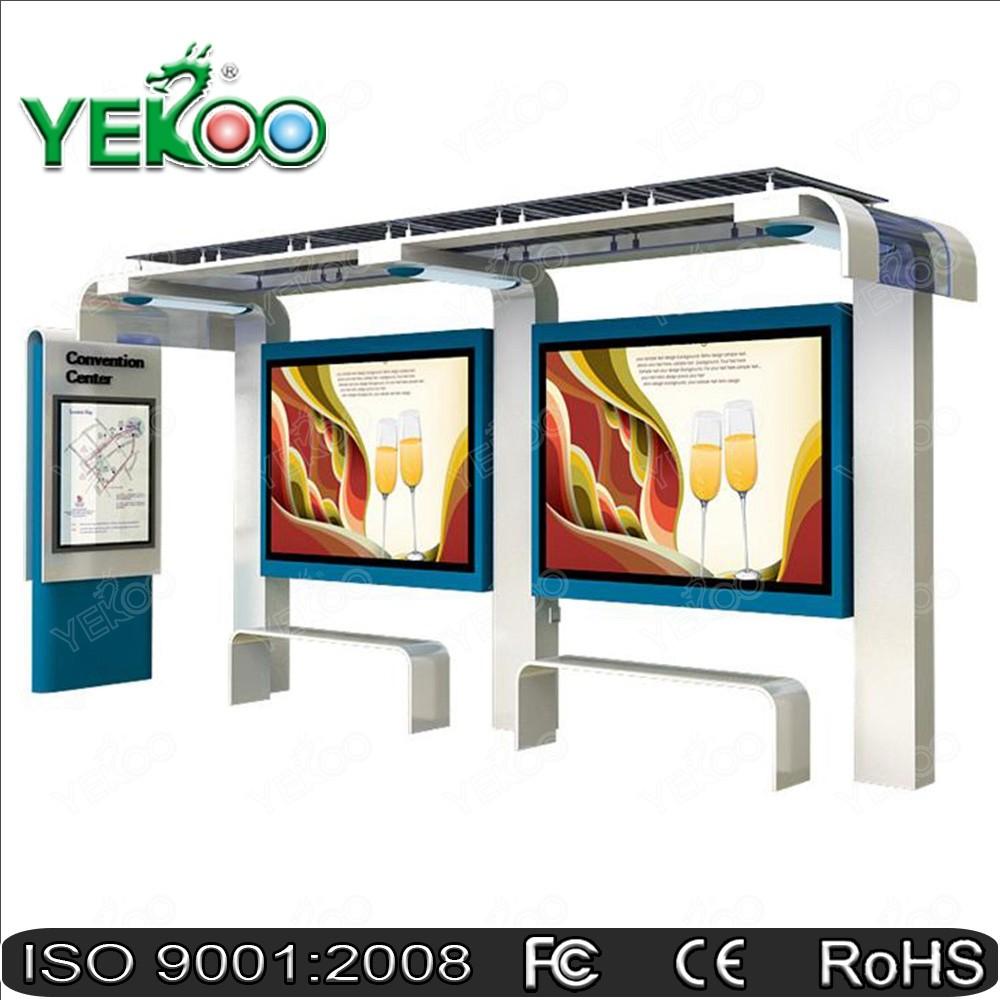 YEROO-Basic elements of modern bus shelter production