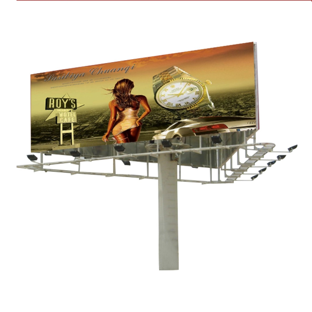 YEROO-Three-sided outdoor billboard advantage introduction