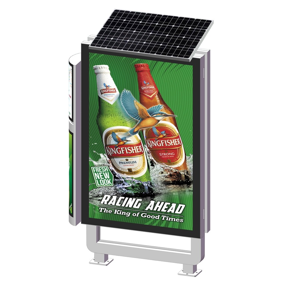 YEROO-Outdoor advertising light box delivery principle