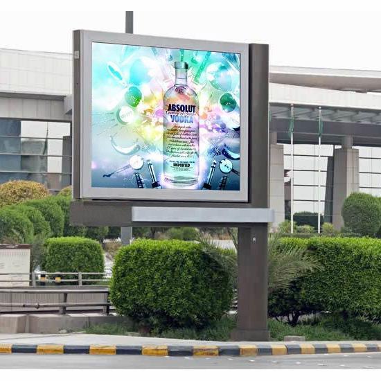 YEROO-BB-001 Outdoor 4m x 3m free standing backlit billboard
