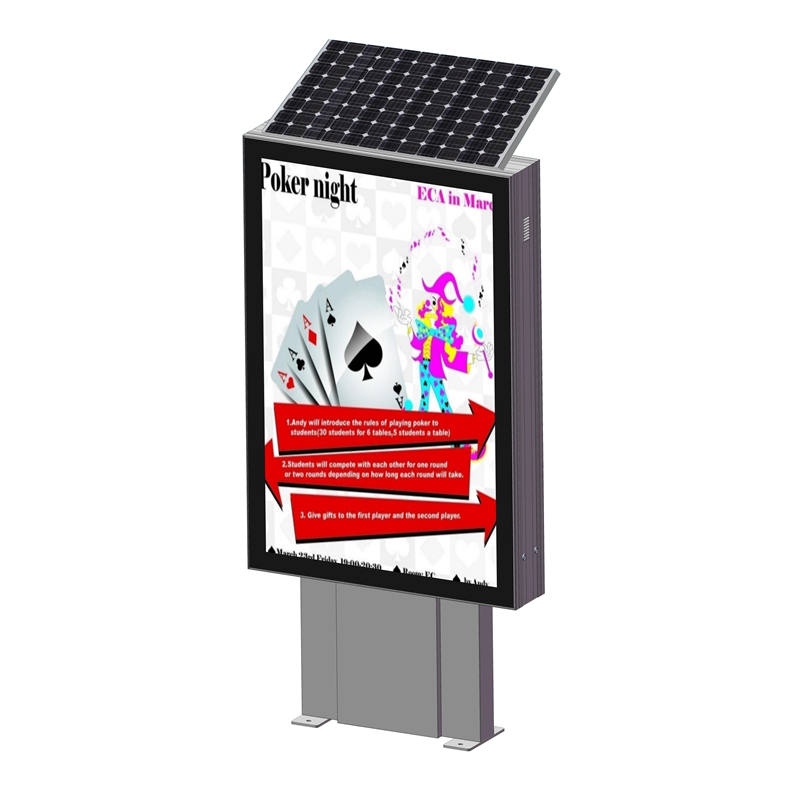 YEROO-Outdoor advertising light boxes must be processed according to standards in production