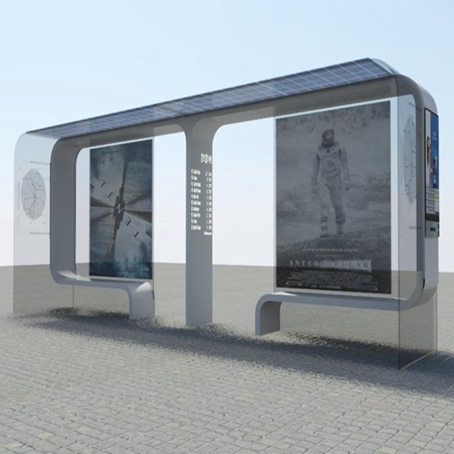 product-Solar Bus Stop Shelter-YEROO-img