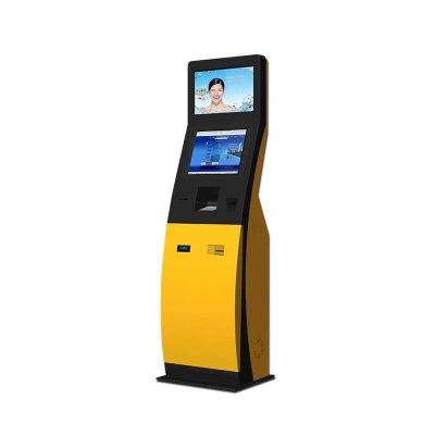 Interactive touch screen kiosk self-service kiosk payment terminal