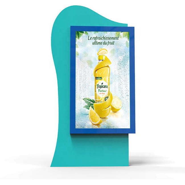 YR-SCLB-0012 Outdoor Standing Advertising Light Box