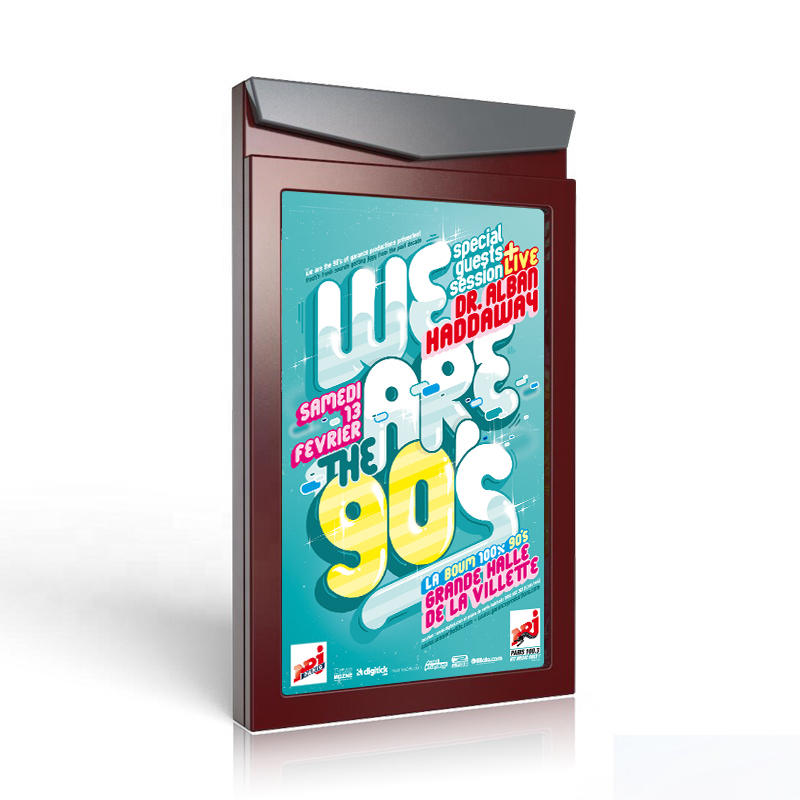 Why use aluminum profiles as materials for outdoor advertising light boxes?