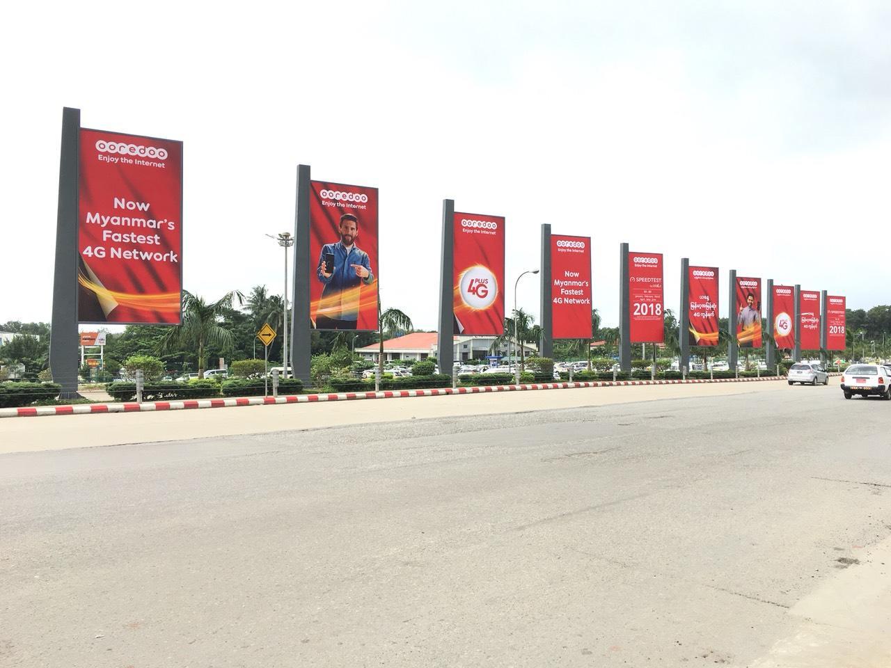 3x6m backlit billboard