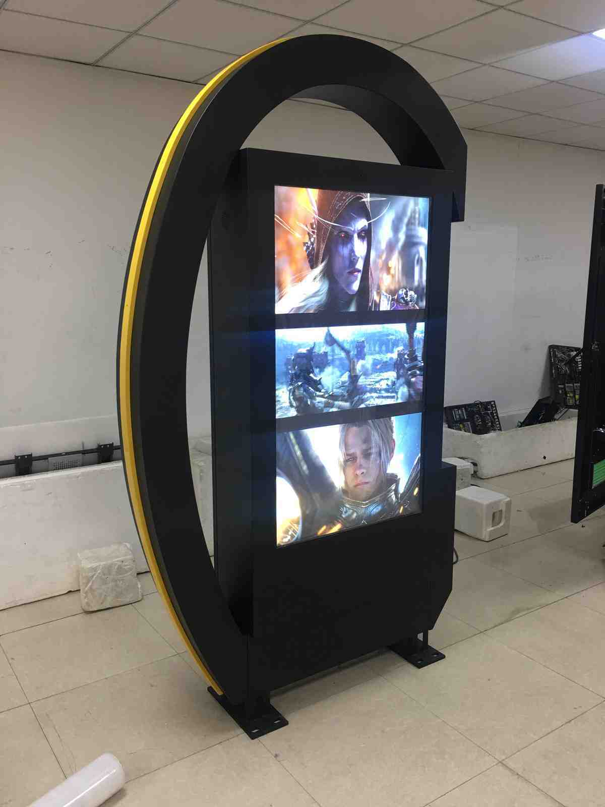 55 inch outdoor single side advertising LCD display