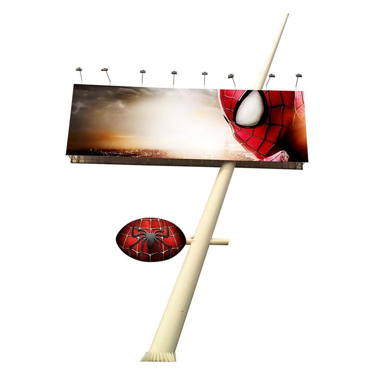 14x4 double side frontlit billboard