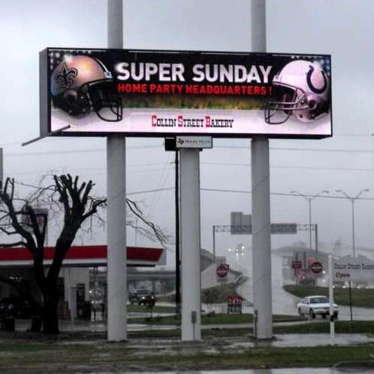 Outdoor P10 full color LED screen display(SMD)