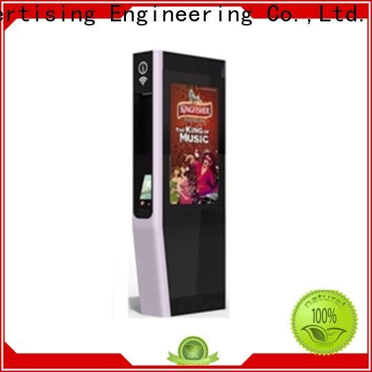fast installation digital kiosk universal for outdoor ads