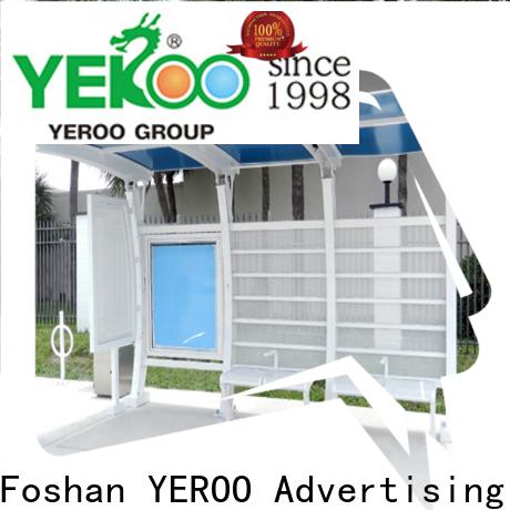 YEROO Bus Shelter customization service