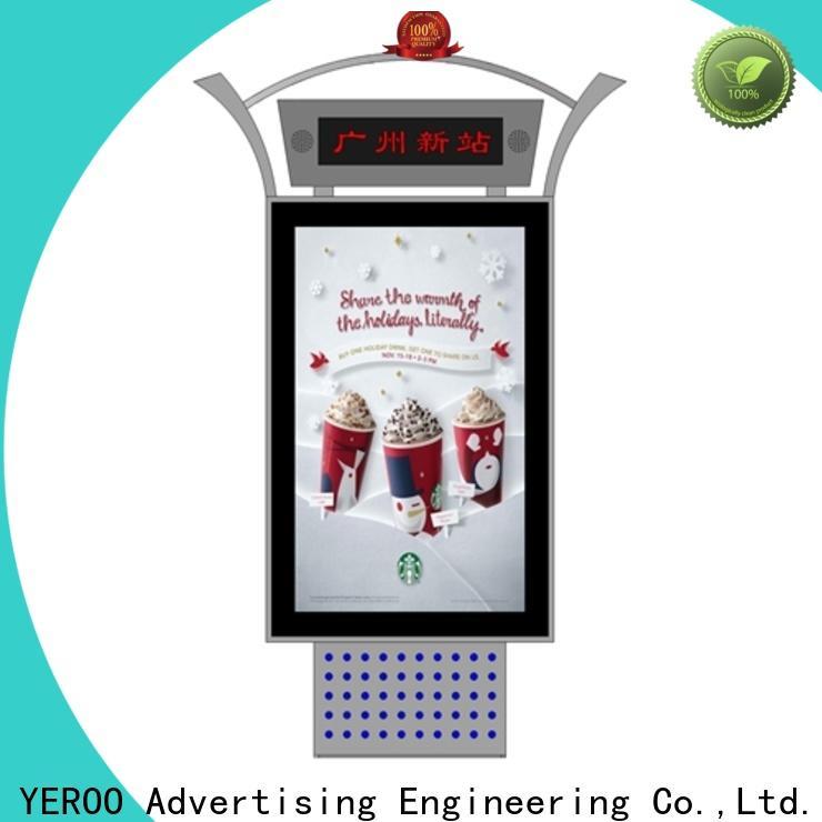 YEROO customized mupi advertising energy-saving for shopping mall