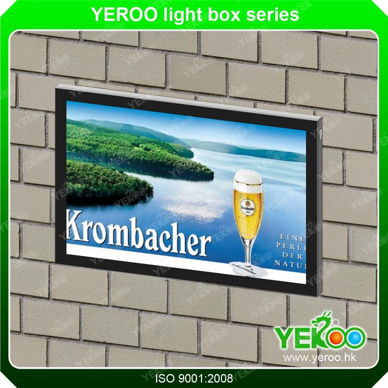 Outdoor wall-mounted scrolling advertising light box-Malaysia