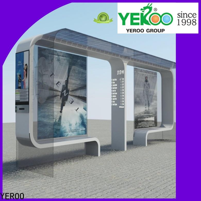 YEROO solar bus stop recharge socket