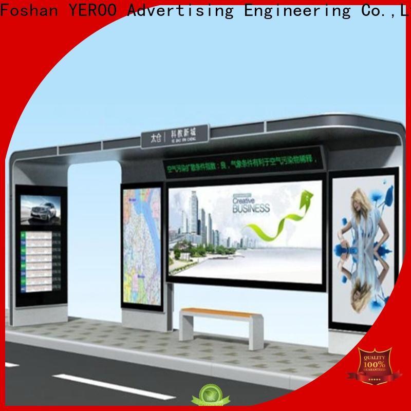 YEROO smart bus shelter