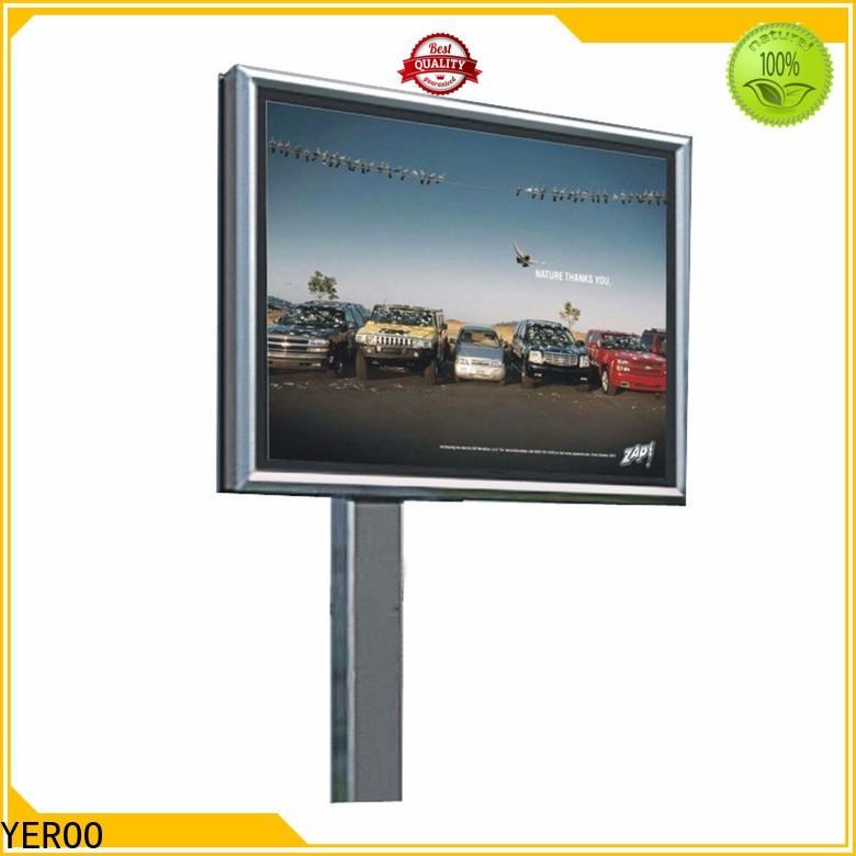 large size scrolling billboard column for highway