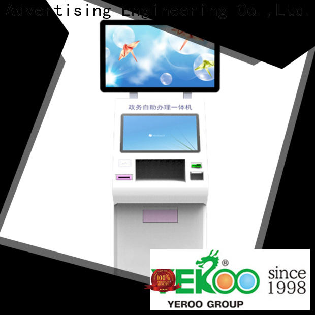 cheap factory price touch screen kiosk high grade for sheltering