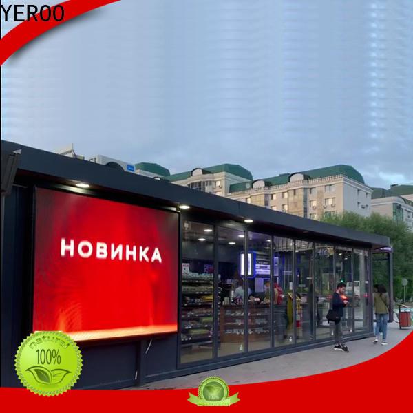 light bus shelter ad bulk production for suburb
