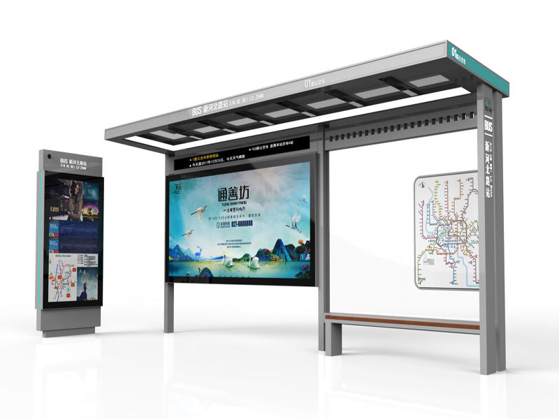Bus shelter manufacturer: the layout of the bus shelter