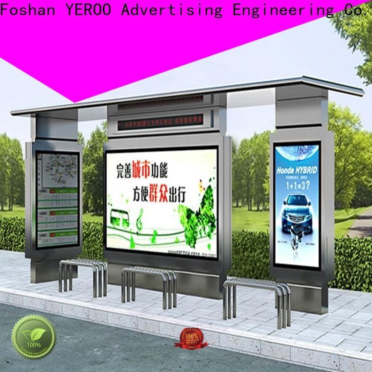 YEROO box smart bus shelter at discount