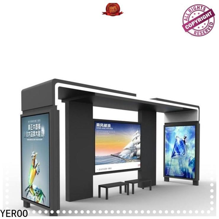 YEROO smart bus stop bulk production for outdoor