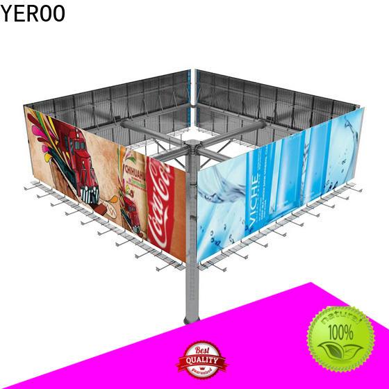 YEROO billboard structure customization service for advertising