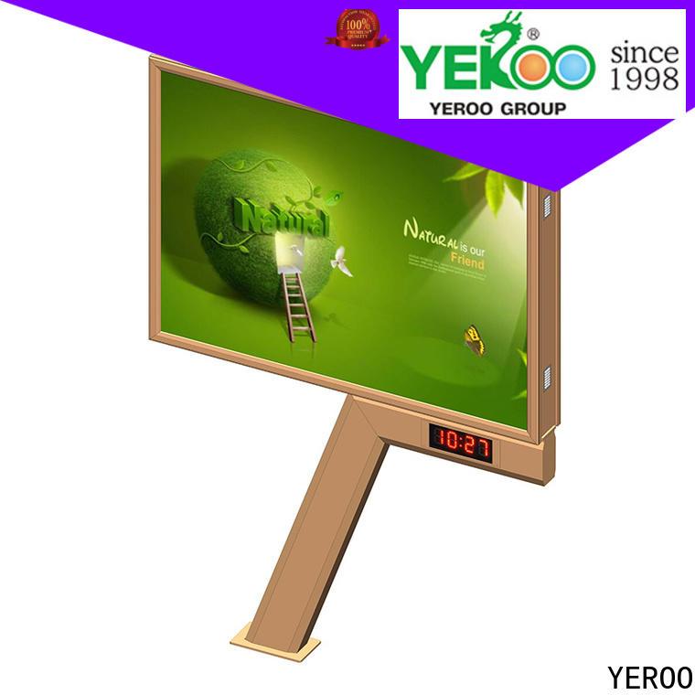 universal backlit billboard functional for marketing