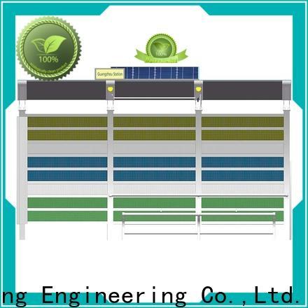 cost-efficient solar bus shelter