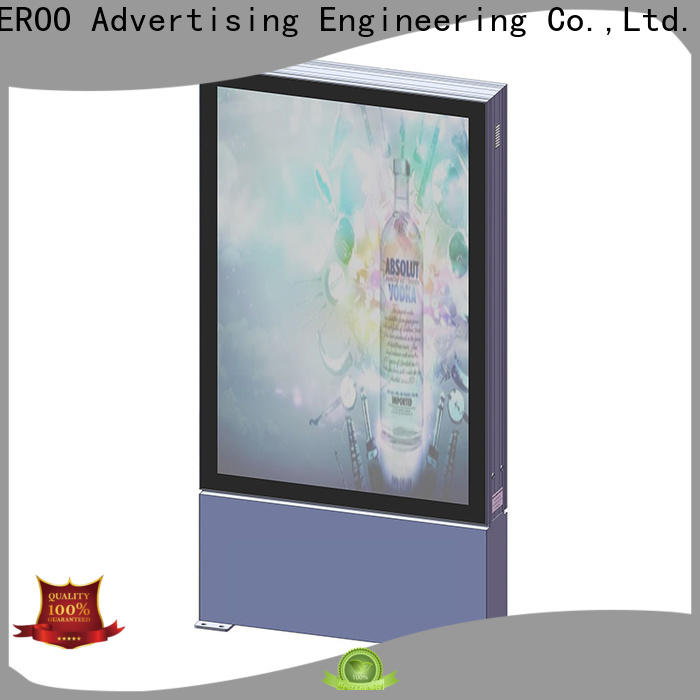 YEROO street light box street advertising
