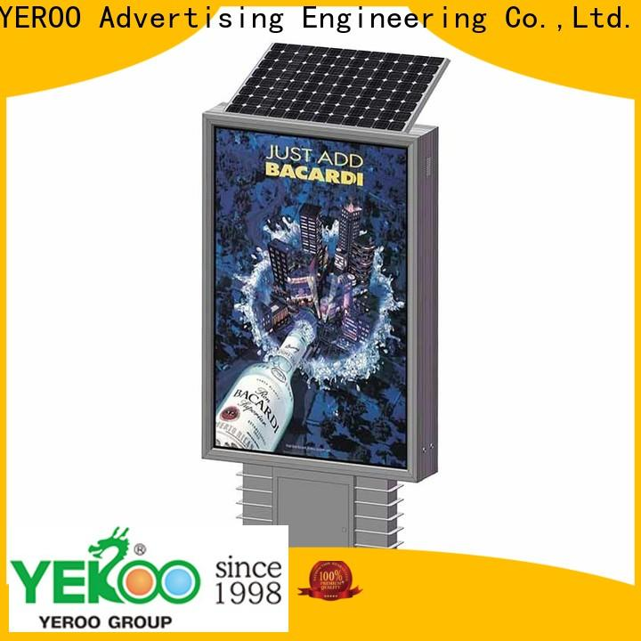 YEROO light box stand energy-saving for outdoor ads