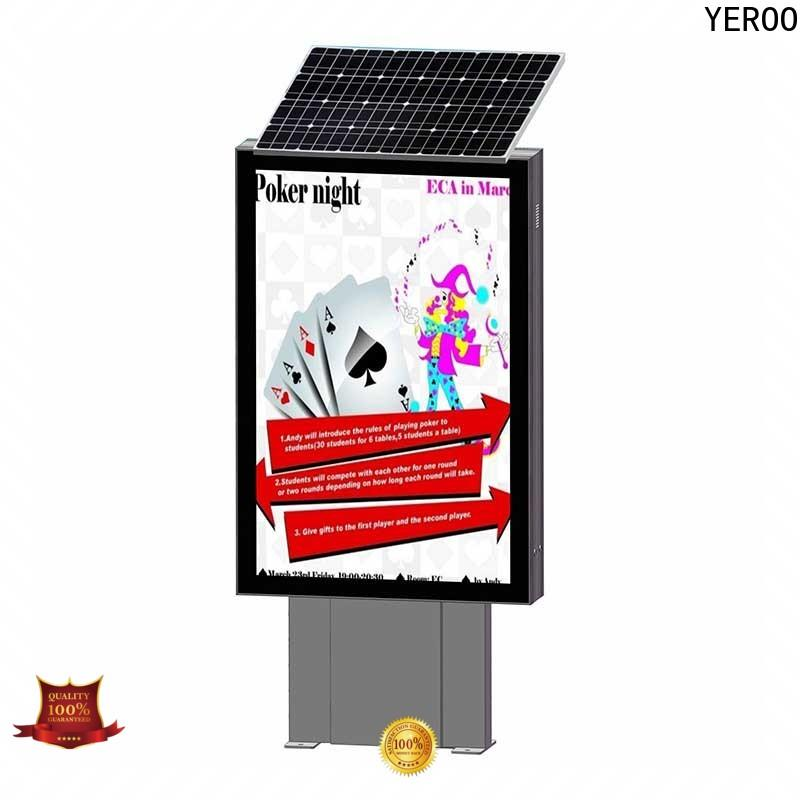 YEROO high-end display light box energy-saving for advertising