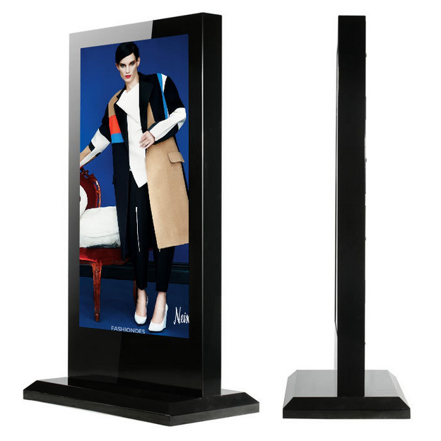 Intelligent integrated city, outdoor advertising display is essential